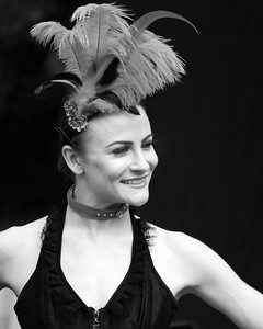 Dancing Girl BW - Prescott Speed Hillclimb - La vie en blue 2018