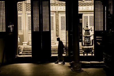 Guiyuan Temple Monk 2451bws