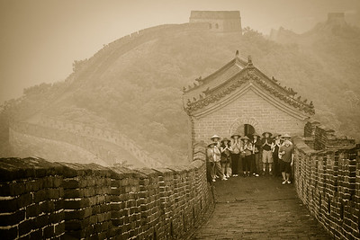 Great Wall Tourists 2963bws