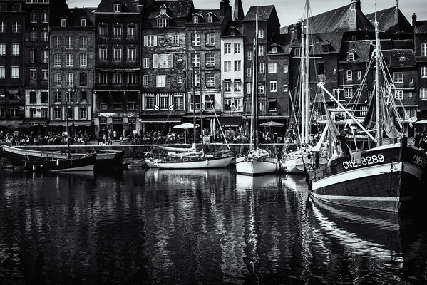 Honfleur - Normandy, France<br /> © Sharon Thomas