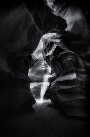 Lower Antelope Canyon Sunbeam 5<br /> © Sharon Thomas