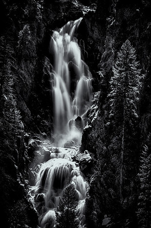 Steamboat Springs Waterfall<br /> © Sharon Thomas