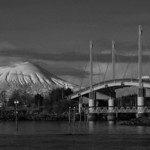 Mt. Edgecumb and bridge