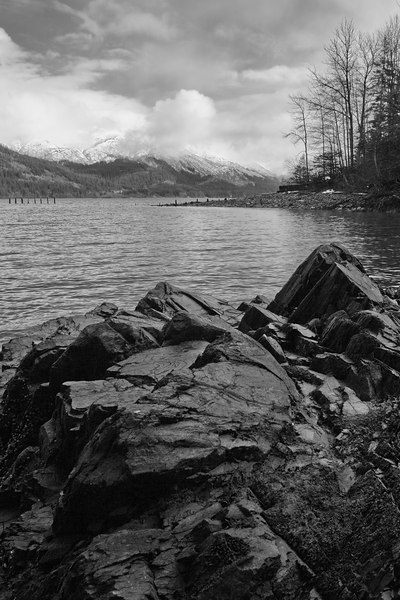 Gastineau Channel, South Douglas Island