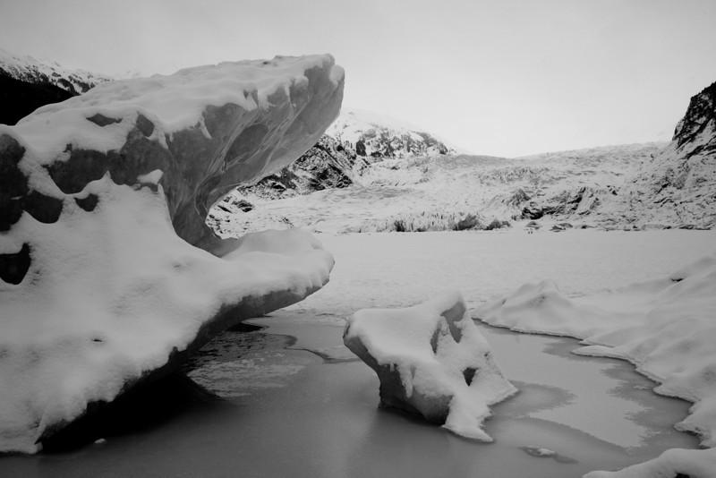 Mendenhall icebergs 2