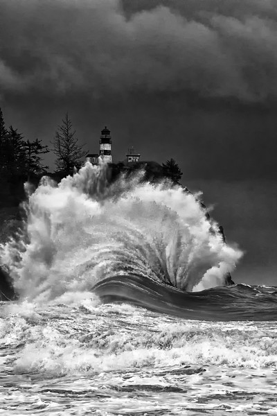 Cape Disappointment Winter Storm