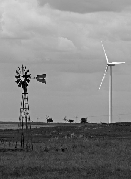 windmills, old and new