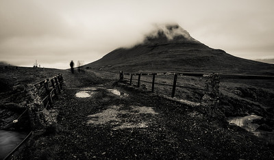 Leaving Kirkjufell