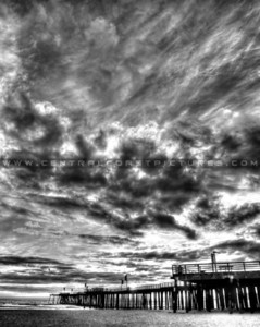 pismo-pier-sunset-4821_bw