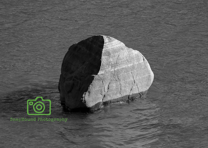 Rock Above Water