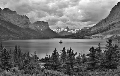 St. Mary Lake & Wild Goose Island