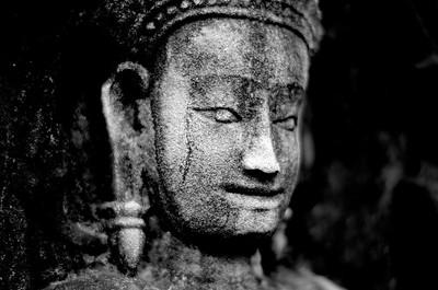 Cambodian Buddha Face
