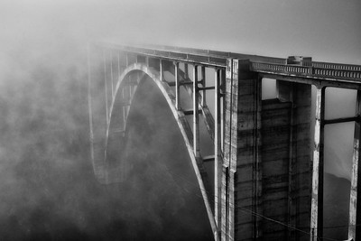 Bixby Bridge & Fog