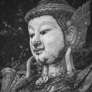Thai Stone Buddha