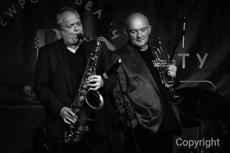 Australian Jazz Trumpeter James Morrison with Ken Peplowski