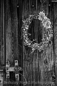Wreath & Hand Forged Hardware