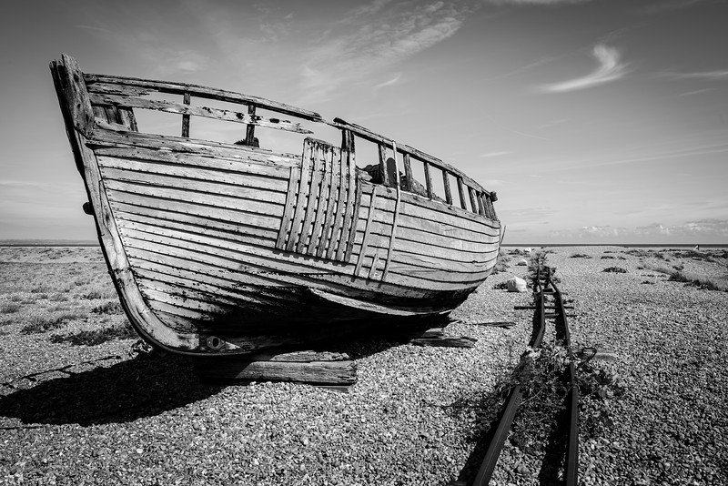 Dungeness Beach, Kent, UK.