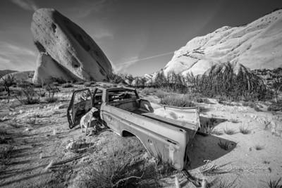 Mormon Rocks Trail - Abandoned