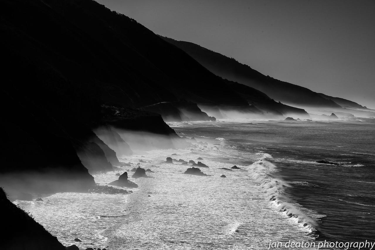 Big Sur in Black & White 4