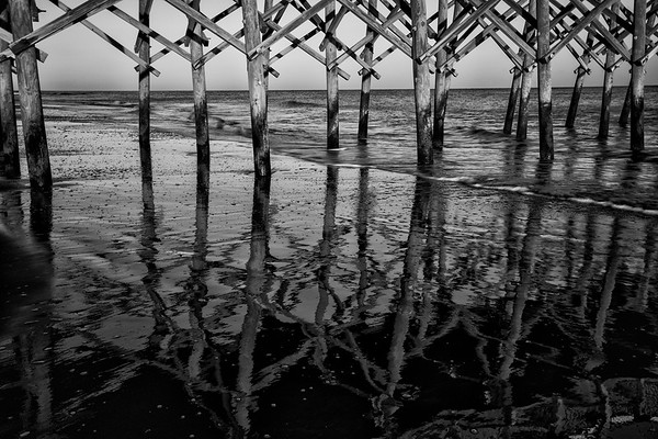 Folly Pier Reflections