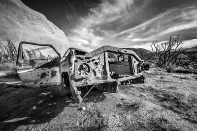 Mormon Rocks Trail - Abaondoned II.