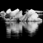 Mendenhall icebergs