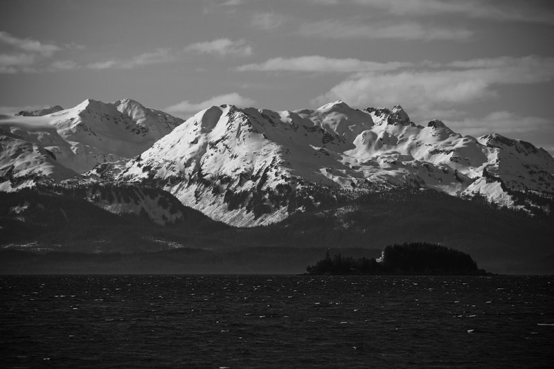 Chilkats and Lynn Canal lighthouse
