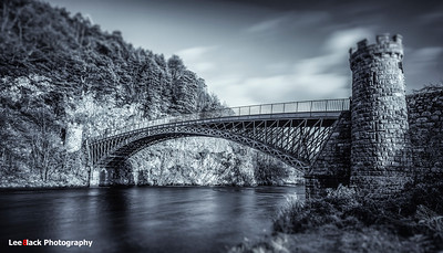 Craigellachie Bridge over the River Spey