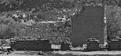 Old Jail of Lincoln, New Mexico