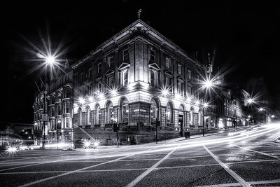 Corner of Dean Street and Mosley Street Newcastle by Lang Shot Photography