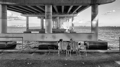 Relaxing Time Under the Bridge