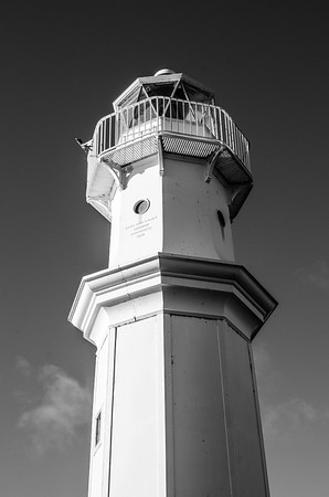 Newhaven Harbour Lighthouse  East Coast Scotland