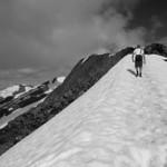 Adam climbing Mt. Gastineau