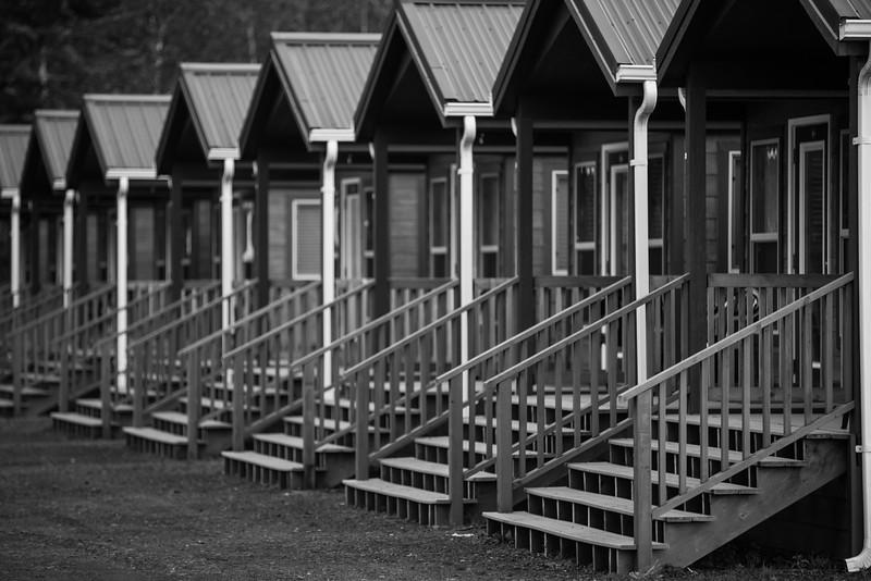 Washington State camping cabins