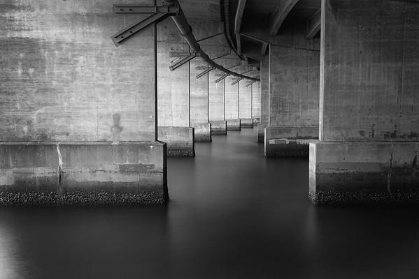 Harbour Bridge Supports