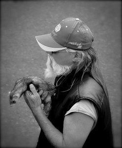 Captain Jack and his Ferret