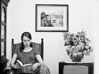 Reading at Grandma's