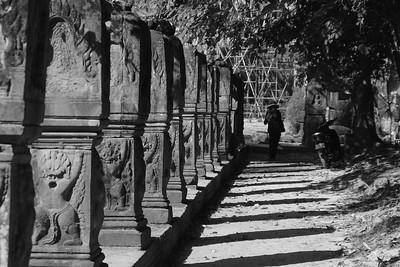 Angkor Wat Shadows