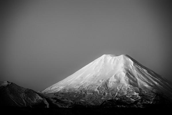 Mount Ngauruhoe Glow