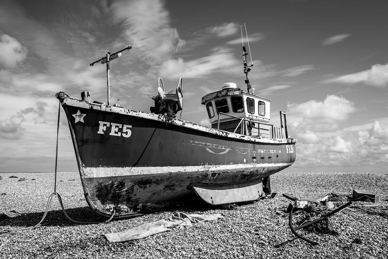 Dungeness Beach, Kent, UK