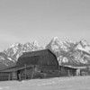 Barn on Mormon Row, Grand Tetons National Park, Wyoming