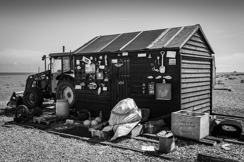 Dungeness Beach, Kent, UK.
