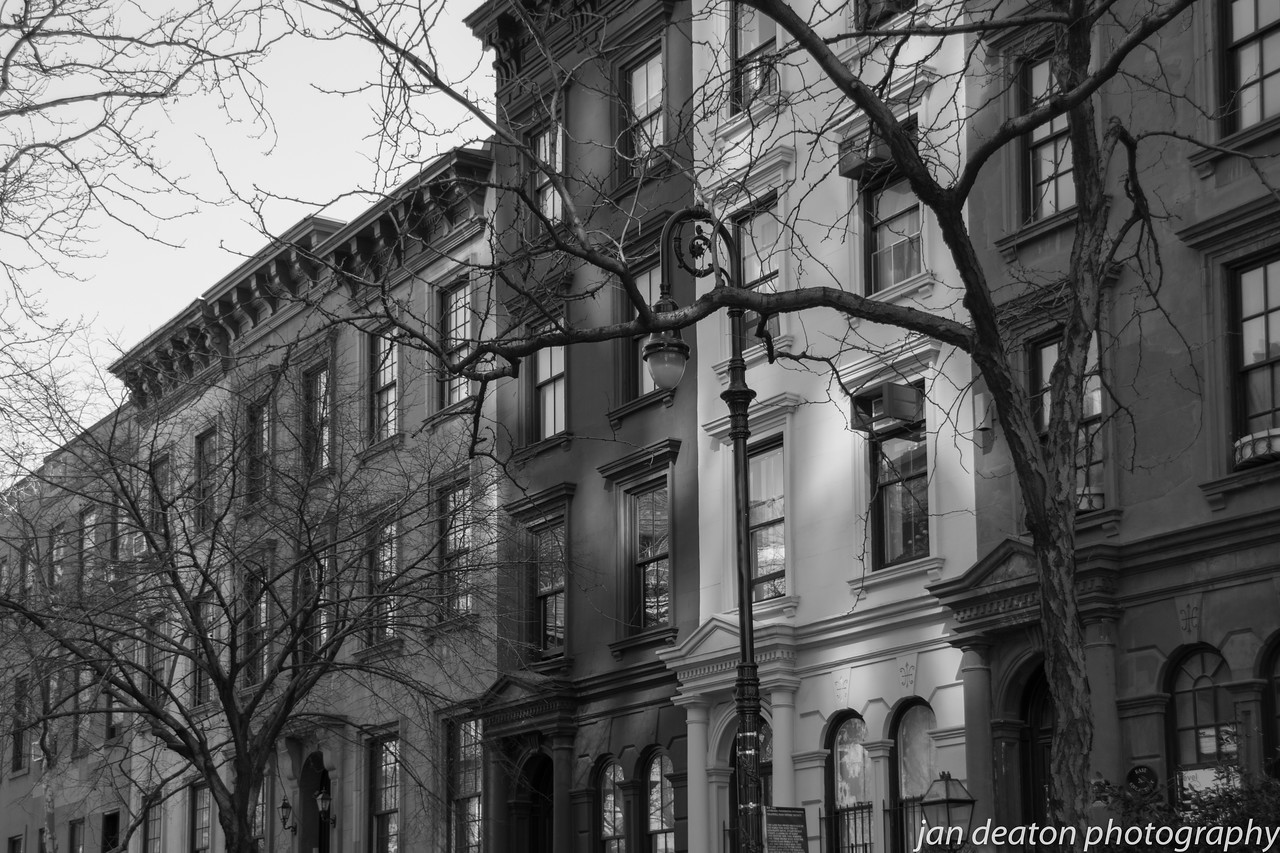 The Brownstones/B&W