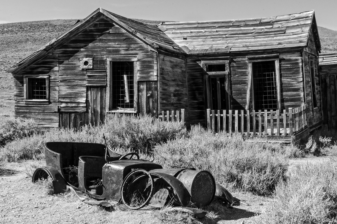Ghost Town - Bodie, CA