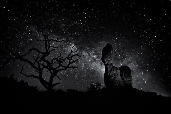 Milky Way at Arches Nat'l Park