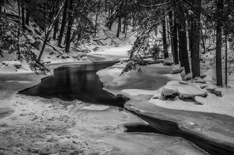 Below Doan's Falls, Royalston, MA