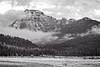 Mountain Range in Yellowstone