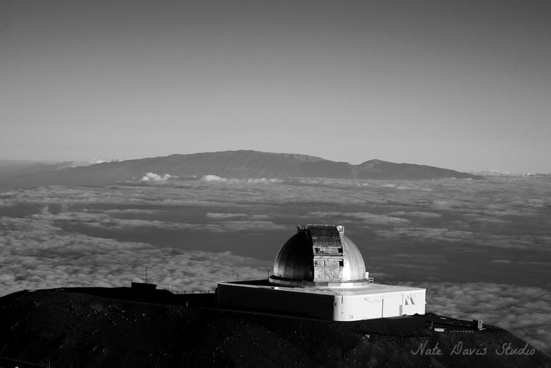 Observatory Overlooking Maui