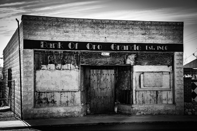 Bank of Oro Grande