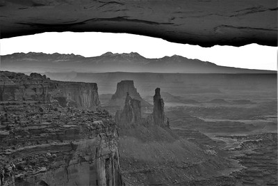 Washerwoman Arch from Mesa Arch